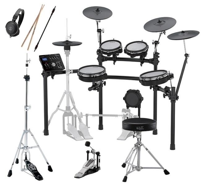 【ポイント8倍】【送料込】【DAP-3X+TAMAハイハットスタンド付7点セット】Roland ローランド TD-25KV-S V-Drums 電子ドラム【smtb-TK】