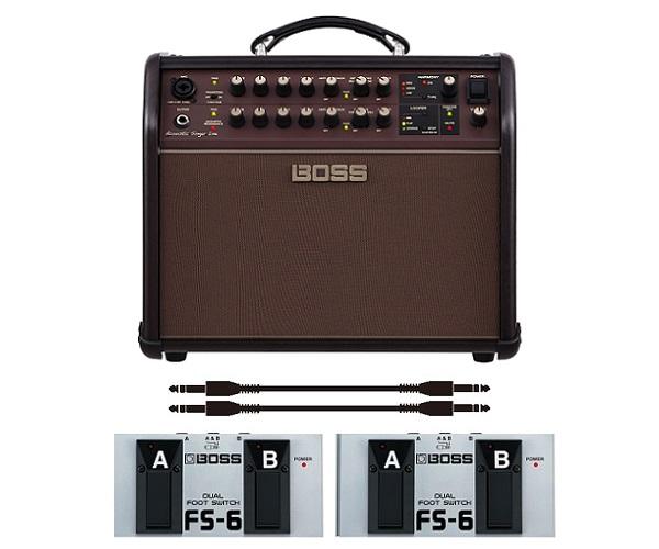 【ポイント2倍】【送料込】【フットスイッチ*2個/FS-6+audio-technica製接続ケーブル*2本付】BOSS ボス Acoustic Singer Live ACS-LIVE アコースティック・ステージ・アンプ【smtb-TK】