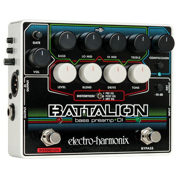 【送料込】ELECTRO HARMONIX BATTALION Bass Preamp & DI ベースプリアンプ DI 【smtb-TK】