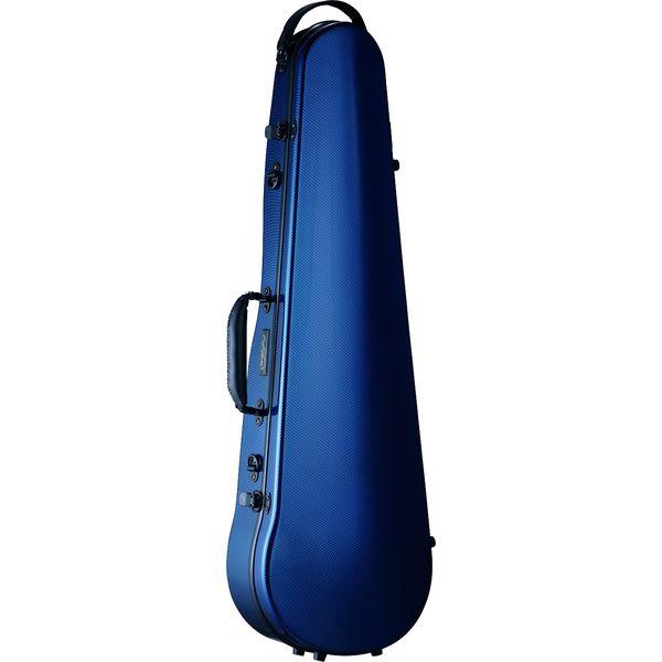 【送料込】Carbon Mac CFV-2 BLU ブルー バイオリン ケース カーボンマック スリム【smtb-TK】