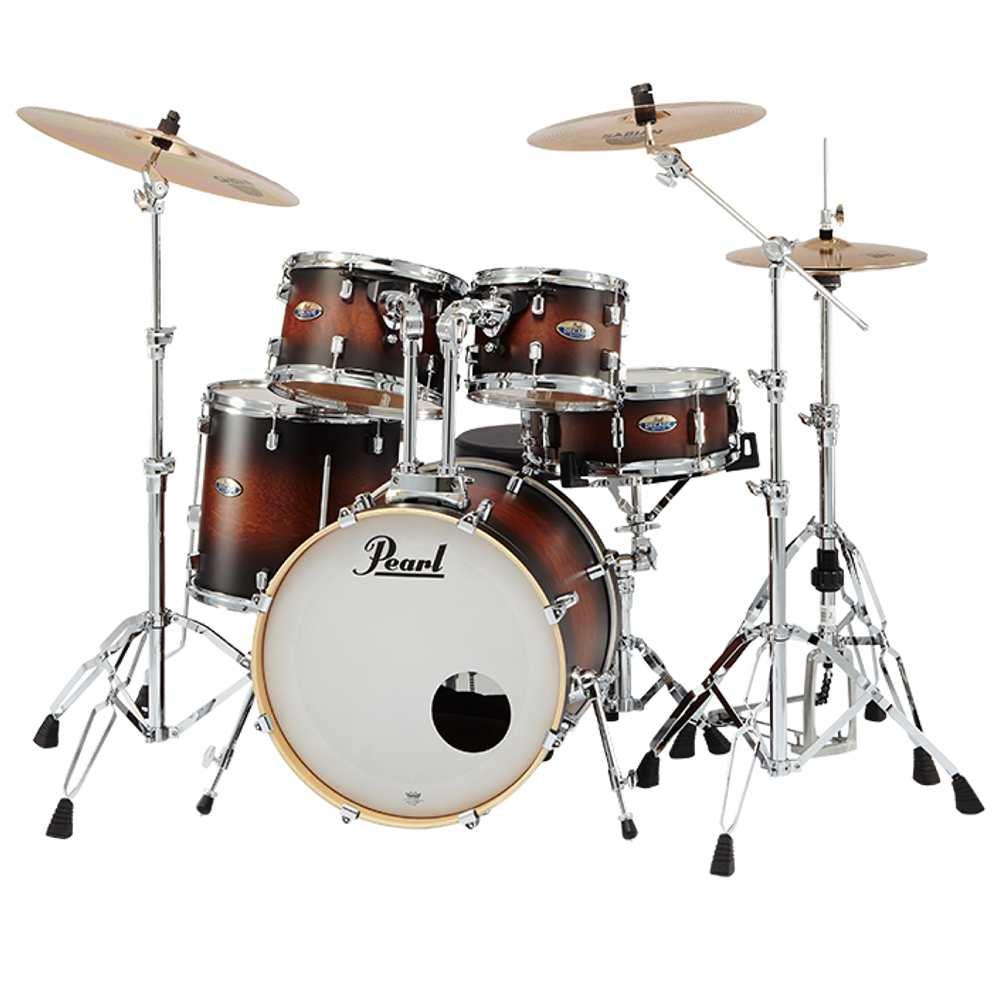 【送料込】【SABIAN AA シンバル】Pearl パール DMP905/C-DA No.260 Satin Brown Burst DECADE Maple COMPACT ドラムセット 【smtb-TK】