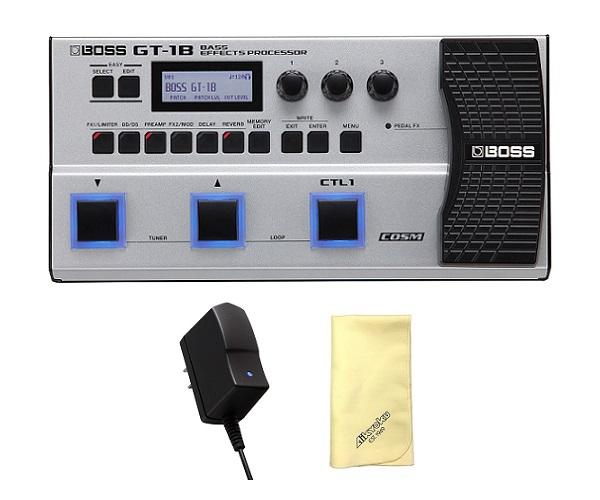 【送料込】【愛曲クロス付】【純正ACアダプター/PSA-100S2付】BOSS ボス GT-1B Bass Effects Processor ベース用マルチ・エフェクター【smtb-TK】