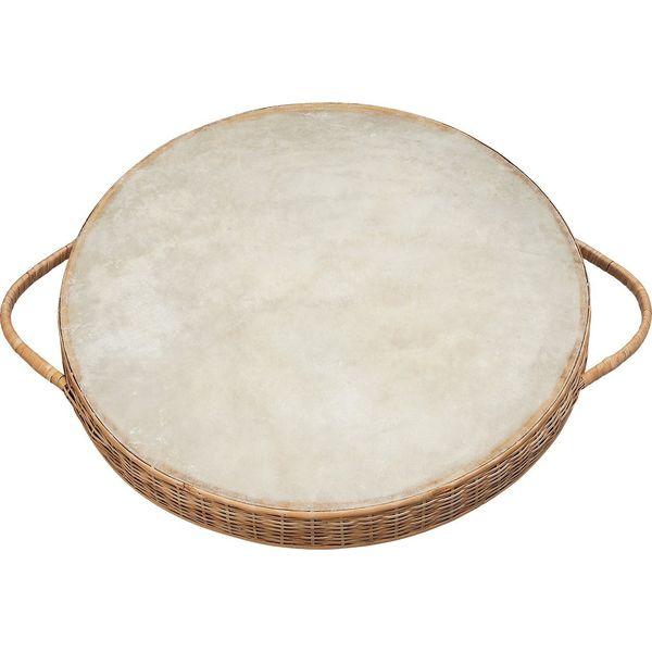 【送料込】Kids Percussion キッズ・パーカッション KP-1430/OD ハンドル付 オーシャンドラム/大【smtb-TK】