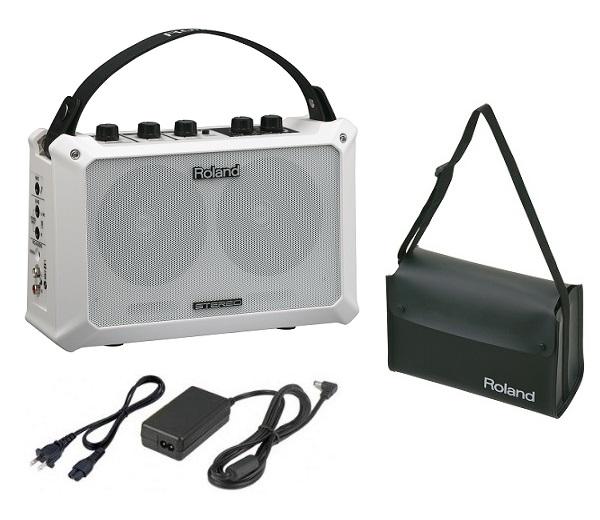 【送料込】【ACアダプター+キャリングバッグ付】Roland ローランド MOBILE BA Battery Powered Stereo Amplifier【smtb-TK】