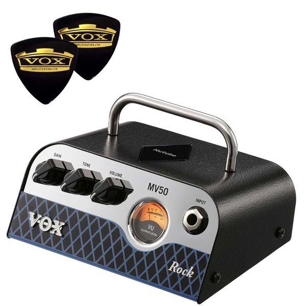 【送料込】【限定VOXピック2枚付】VOX ヴォックス MV50-CR Rock 新真空管 Nutube 搭載 アンプ・ヘッド【smtb-TK】