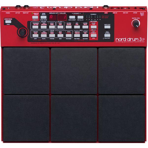 【送料込】【正規輸入品】Clavia クラヴィア Nord Drum 3P 音源とパッド一体型ボディ ノード・ドラム/モデリング・パーカッション・シンセサイザー【smtb-TK】