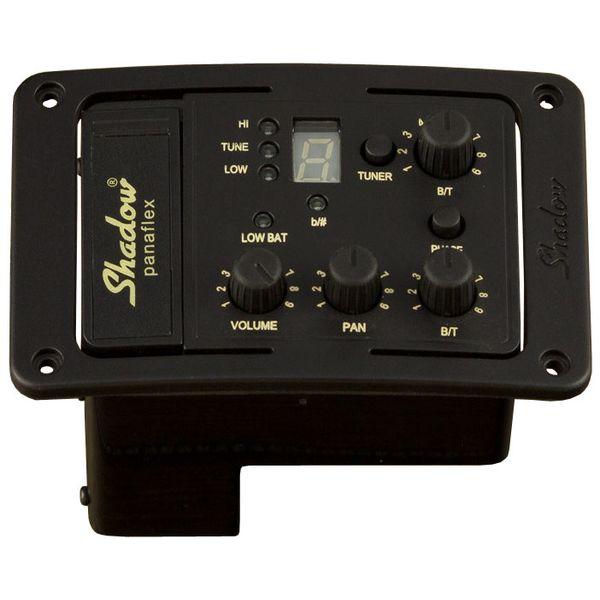 【送料込】Shadow シャドウ SH 4012 A アコースティックギター用ステレオプリアンプ w/ パナフレックスピックアップ【smtb-TK】