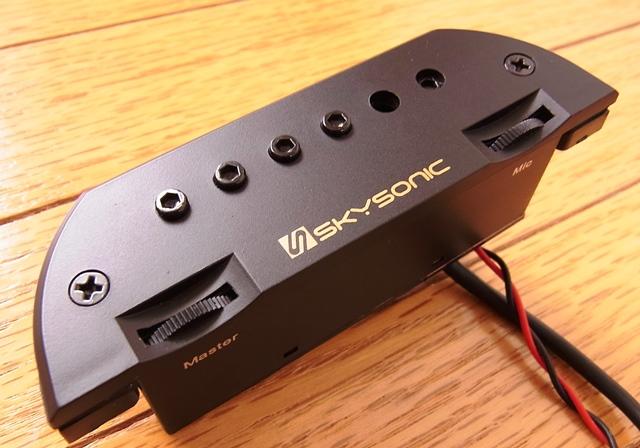【送料込】SKYSONIC スカイソニック T-903 サウンドホール取付け アコースティックギター用 ピックアップ 【smtb-TK】
