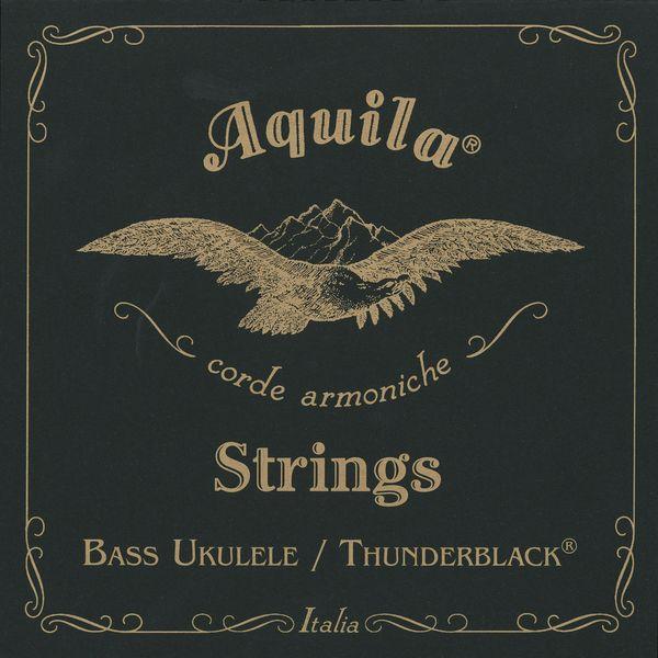 メール便 送料無料 いつでも送料無料 代引不可 1セット Aquila 海外 アクイーラ AQ-BUB BLACK 140U smtb-TK THUNDER ベースウクレレ弦 ウクレレベース用