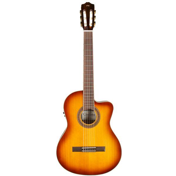 【送料込】【ギグバッグ付】Cordoba コルドバ C5-CE SB FISHMAN プリアンプ搭載 エレガット クラシックギター 【smtb-TK】