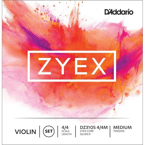 D'Addario DZ310S 4 4M ZYEX SET 今だけ限定15%OFFクーポン発行中 SLV D セット MED 市場 バイオリン弦
