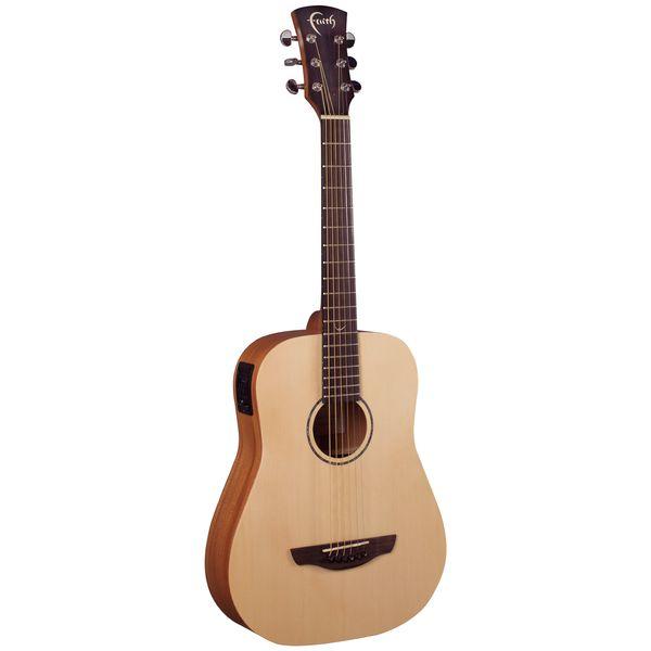 【送料込】【ギグバッグ付】Faith FDS FISHMAN ピックアップ搭載 コンパクト アコースティックギター エレアコ 【smtb-TK】