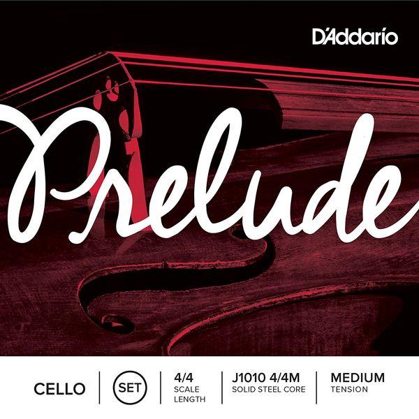 D'Addario J1010 4/4M PRELUDE SET MED チェロ弦 セット