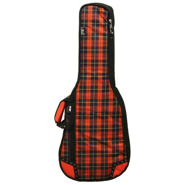 【送料込】LORZ LORZ-C BK-R Red Tartan & Black クラシックギター用ギグバッグ LORZ Skinny LORZ【smtb-TK】