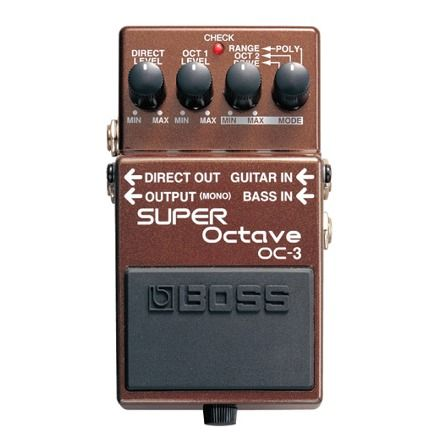 【送料込】BOSS/ボス OC-3 OC-3 SUPER Octave オクターブ・エフェクト SUPER【smtb-TK】, 東祖谷山村:9113f64a --- officewill.xsrv.jp