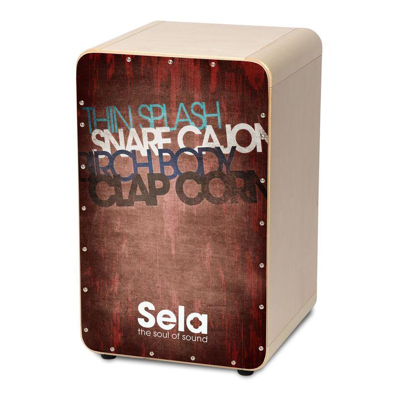 【送料込】Sela CaSela Vintage Red SE076 スネア・カホン 【smtb-TK】