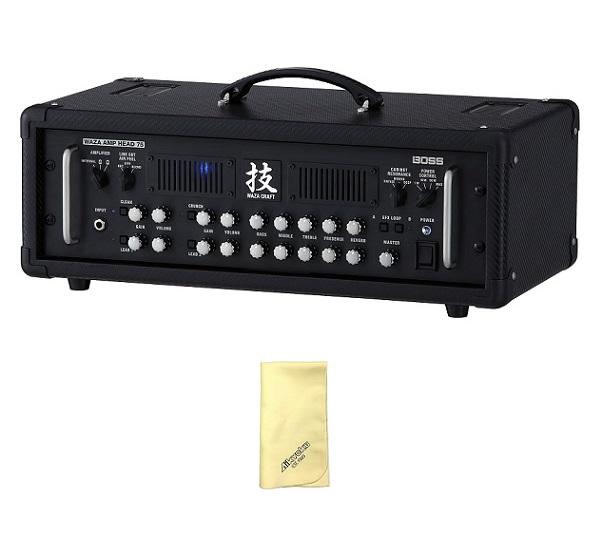 【送料込】【特典付】【愛曲クロス付】BOSS ボス WAZA Amp Head 75 WAZA-HD75 75Wアンプ・ヘッド【smtb-TK】