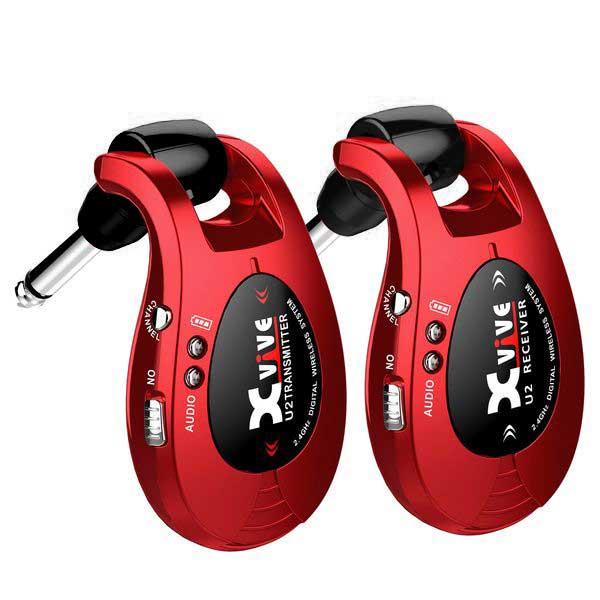 【送料込】【限定モデル】Xvive エックスバイブ XV-U2/Red 2.4GHz デジタルワイヤレス・システム 【smtb-TK】