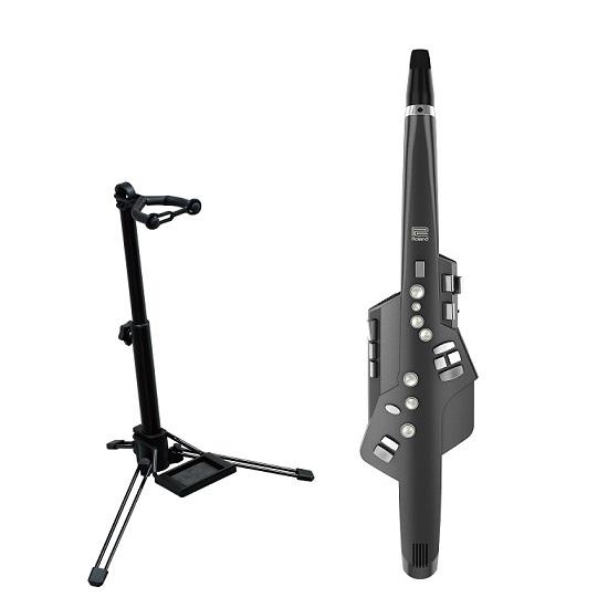 【送料込】【スタンド/WSS-100付】Roland ローランド Aerophone AE-10G GRAPHITE BLACK Digital Wind Instrument【smtb-TK】