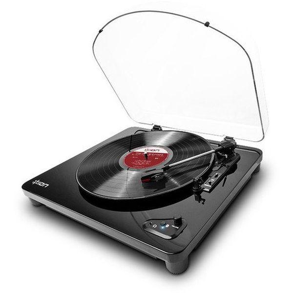 【送料込】ION AUDIO Air LP ピアノブラック Bluetooth対応 レコードプレーヤー 【smtb-TK】