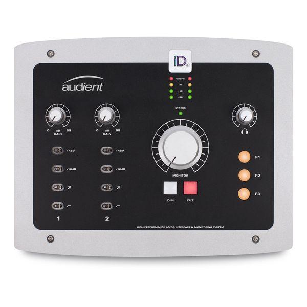 【送料込】audient オーディエント iD22 AD/DA インターフェース&モニタリング・システム 【smtb-TK】