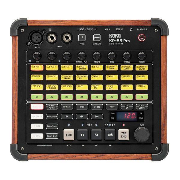【送料込】KORG コルグ KR-55 Pro KORG RHYTHM ミキサー/レコーダー機能装備 多機能型リズム・マシン【smtb-TK】