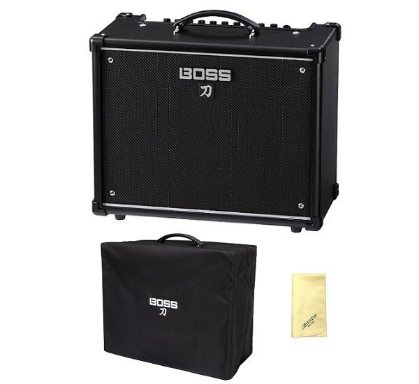 【送料込】【愛曲クロス付】【純正アンプカバー/BAC-KTN50付】BOSS ボス KATANA-50 KTN-50 Guitar Amplifier BOSSフラッグシップの技を継承する切れ味鋭い本格的ロック・サウンド【smtb-TK】