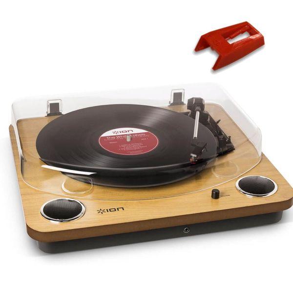 送料込 純正交換針 1個 セット ION AUDIO ターンテーブル LP 海外 MAX レコードプレーヤー スピーカー搭載オールインワンUSB smtb-TK ファクトリーアウトレット