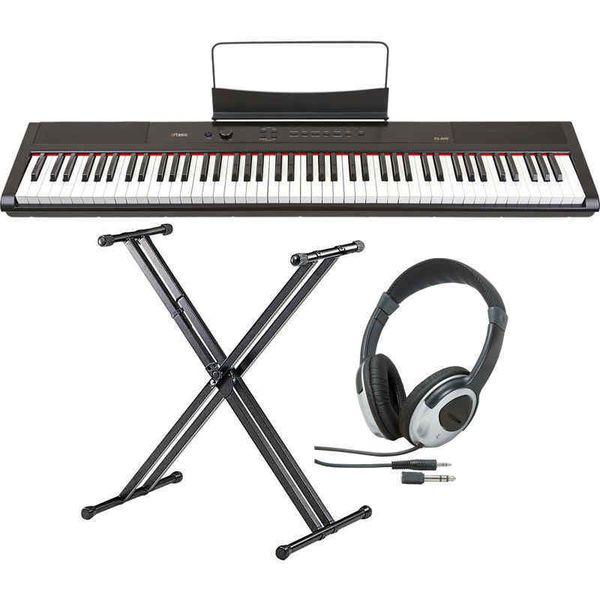 【送料込】【スタンド+ヘッドホン付】artesia アルテシア PA-88H 電子ピアノ ハンマー・アクション鍵盤 デジタルピアノ 【smtb-TK】
