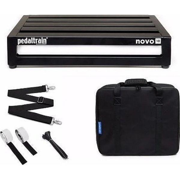 【送料込】Pedaltrain ペダルトレイン PT-N18-SC NOVO 18 w/soft case エフェクターボード 【smtb-TK】