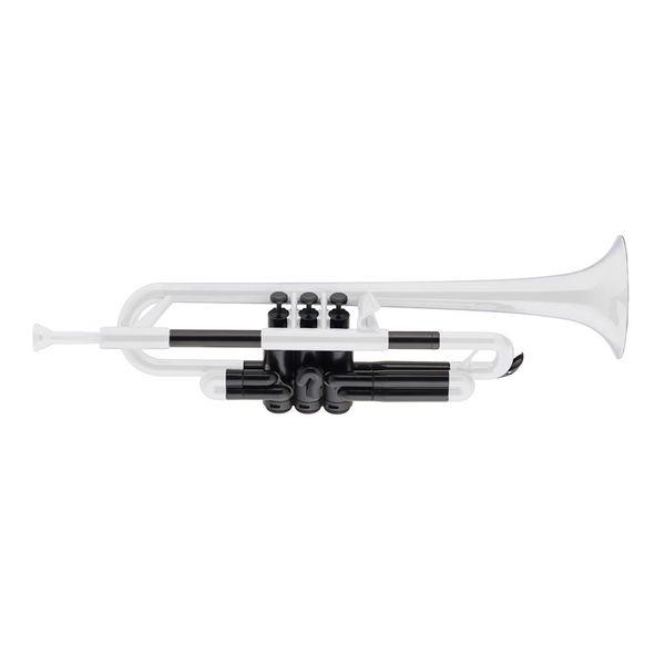 【送料込】pinstruments pTrumpet/White プラスチック製 B♭トランペット PTRUMPET1W【smtb-TK】