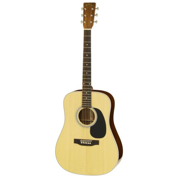 【送料込】【ケース付】ARIA アリア AD-40LTD N Natural Solid Sitka Spruce トップ ドレッドノートタイプ アコースティックギター 【smtb-TK】