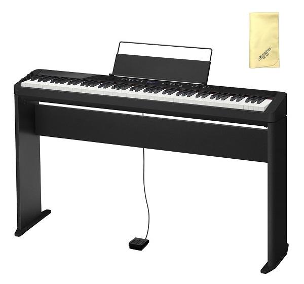 【送料込】【愛曲クロス付】【専用スタンド/CS-68PBK付】CASIO カシオ PX-S3000BK Privia プリヴィア 電子ピアノ【smtb-TK】