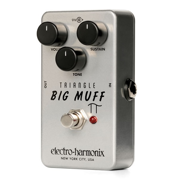 【送料込】ELECTRO HARMONIX Triangle Big Muff Pi Distortion / Sustainer オリジナル ビッグ・マフ 復刻モデル【smtb-TK】
