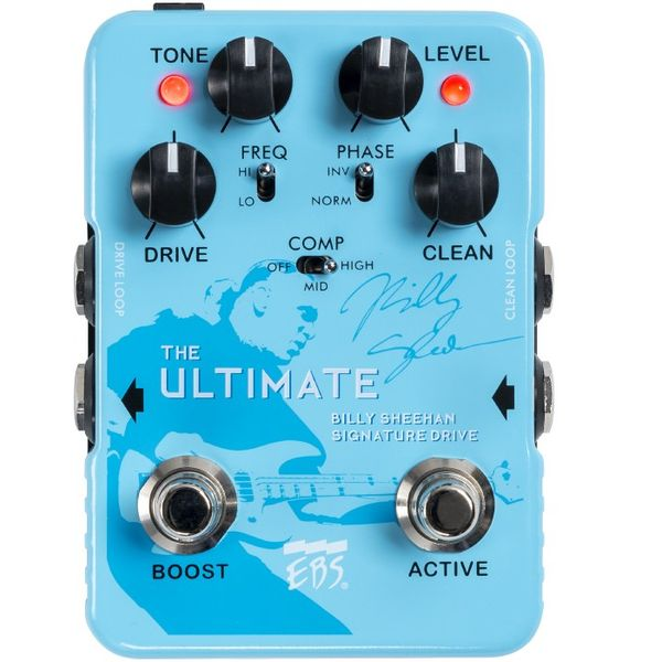 【送料込】EBS BSU Billy Sheehan Ultimate Signature Drive オーバードライブ 【smtb-TK】