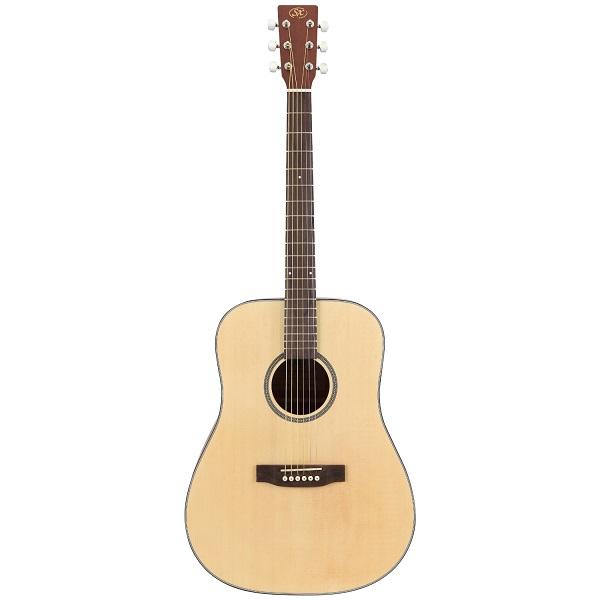 【送料込】【ケース付】SX SD304 アコースティックギター【smtb-TK】