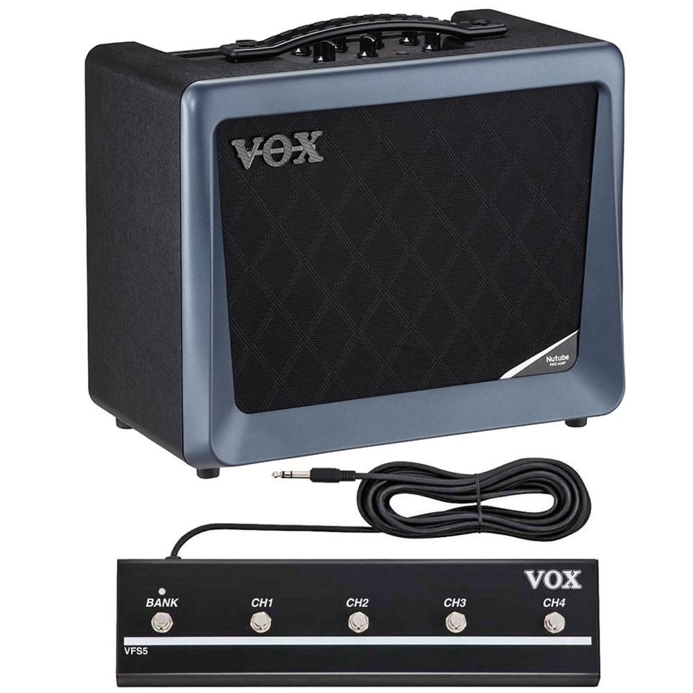 【送料込】【フットスイッチ/VFS5付】VOX ヴォックス VX50-GTV ギター・アンプ 新真空管 Nutube 搭載【smtb-TK】