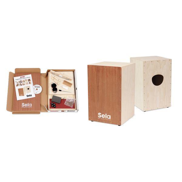 【送料込】Sela Snare Cajon Kit SE001 カホン 組み立てキット 【smtb-TK】