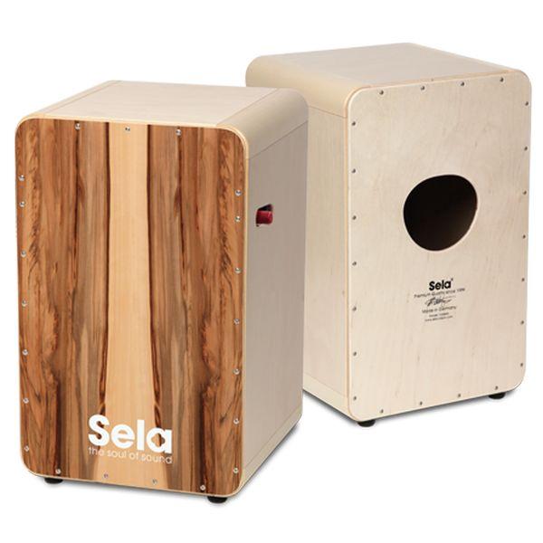【送料込】Sela CaSela Pro Satin Nut SE010 スネア・カホン 【smtb-TK】