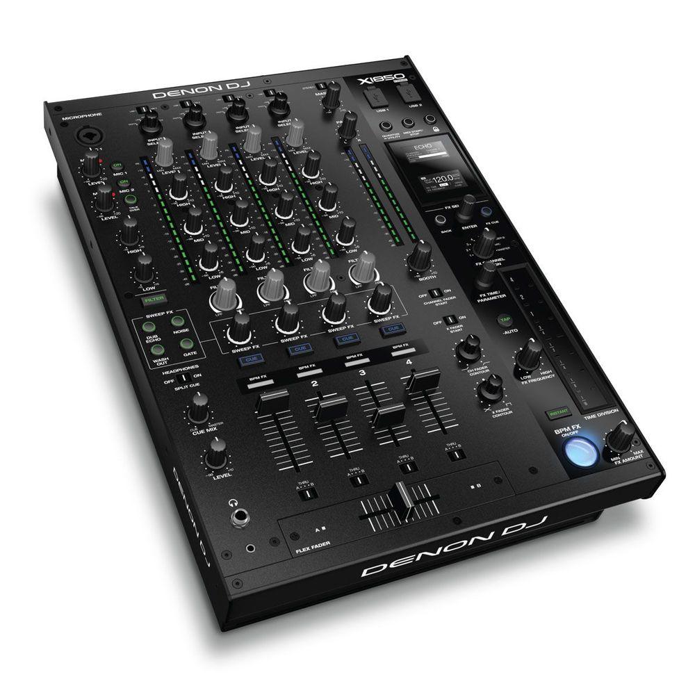 【送料込】Denon DJ X1850 PRIME / プロフェッショナル 4チャンネル DJミキサー 【smtb-TK】