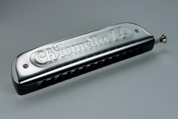 【送料込】HOHNER/ホーナー Chrometta 14 257/56 クロマチックハーモニカ【smtb-TK】