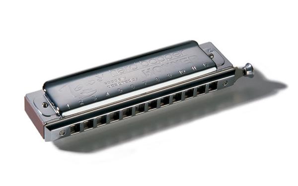 【送料込】HOHNER/ホーナー Toots Hard Bopper 7539/48 クロマチックハーモニカ