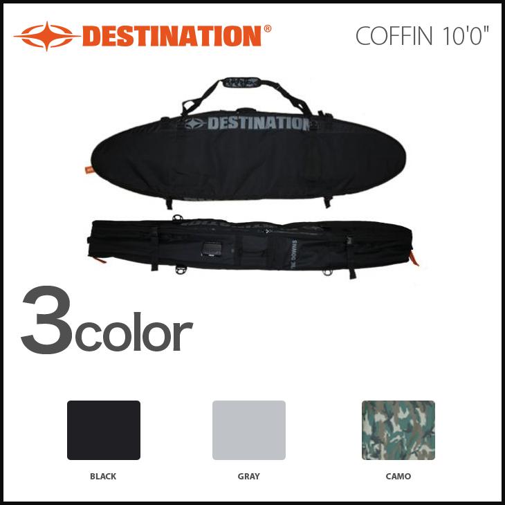 DESTINATION ボードケース ディスティネーション EX-COFFIN コフィン 10'0