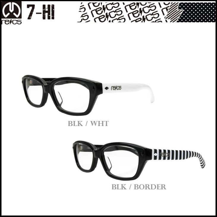 RECS Rex 7-HI seven glasses eyewear sunglasses SUNGLASS eyewear
