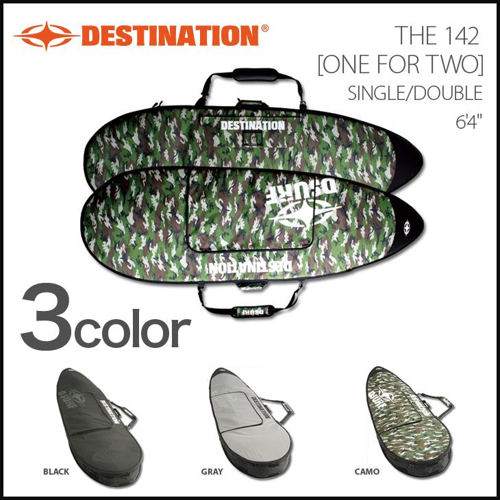 DESTINATION ボードケース ディスティネーション マルチ収納 THE 142 6'4