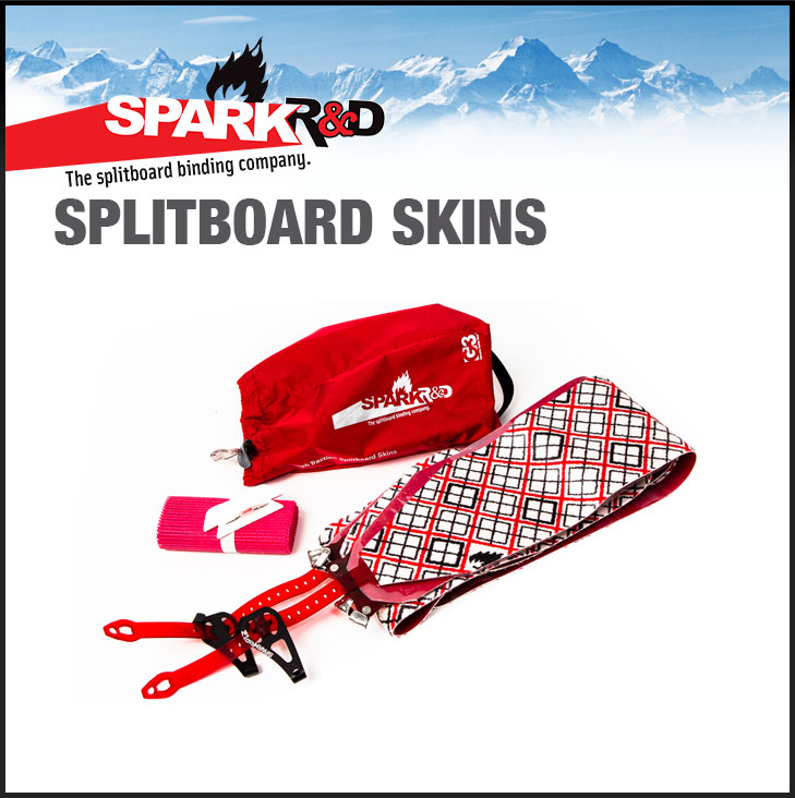 SPARK R&D BINDING G3 HIGHTRACTION SPLITBOARD SKIN スプリットボード スキン 【送料無料】 シール SNOWBOARD スノーボード