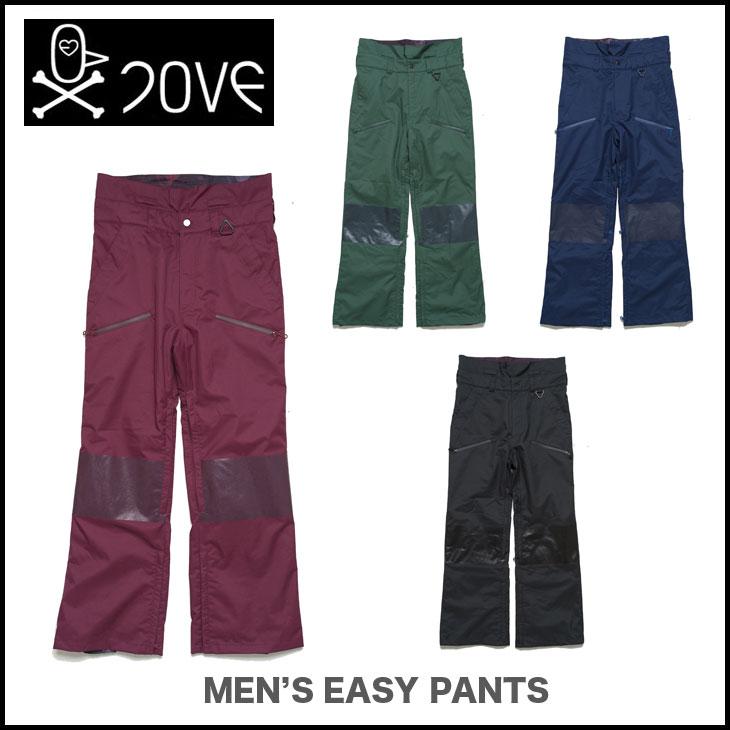 7OVE LOVE ウェア 13-14 MEN'S EASY PANTS ラブ スノーボード ウェアー PT パンツ 【旧モデル特価SALE】【正規品 即納可能 送料無料 付き】【smtb-tk】