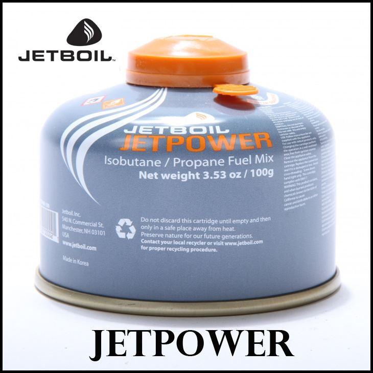 JET BOIL ジェットボイル ジェットパワー100G ジェトボイル専用 ガスカートリッジ アウトドア用調理器具 jetboil