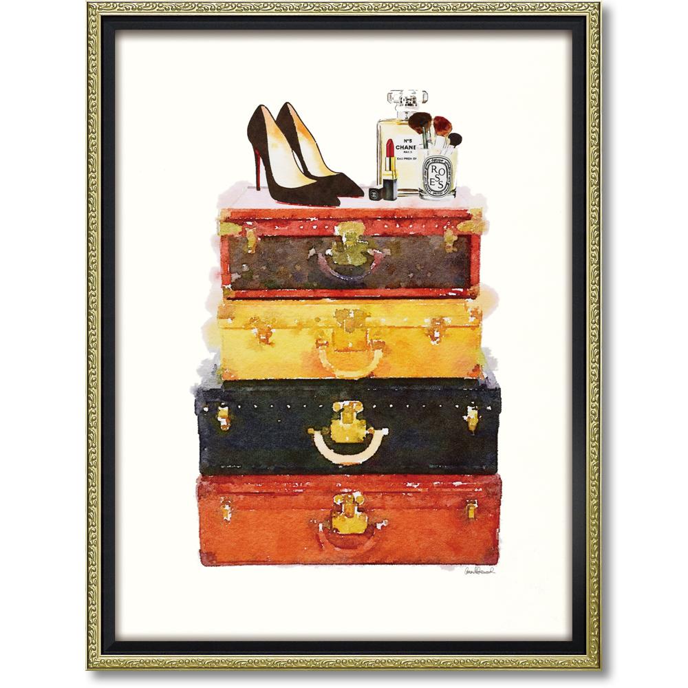 シャネルのモチーフがデザインされたかわいいオマージュアート オマージュ キャンバスアート メイクアップラゲッジ L 新着セール お得クーポン発行中 BC-180134996953284313 シャネル CHANEL かわいい アートパネル ブランド 絵画 人気 アート アートポスター おしゃれ