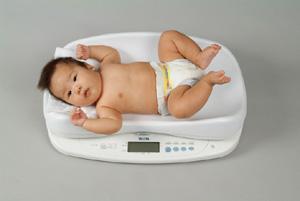タニタ 身長計付き高精度ベビースケール BD-815(1g) +感熱式プリンタセットOP-201セット 体重計 スケール 量り 母乳量 ベビー用品 赤ちゃん用品 送料込 はかり